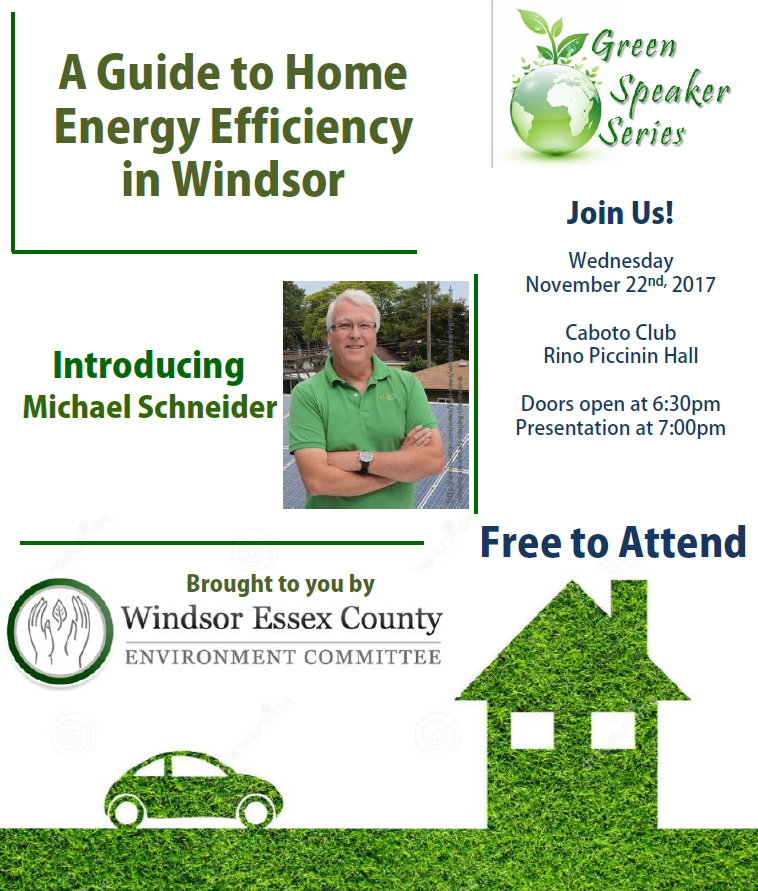 Michael Schneider: A Guide to Home Energy Efficiency in Windsor