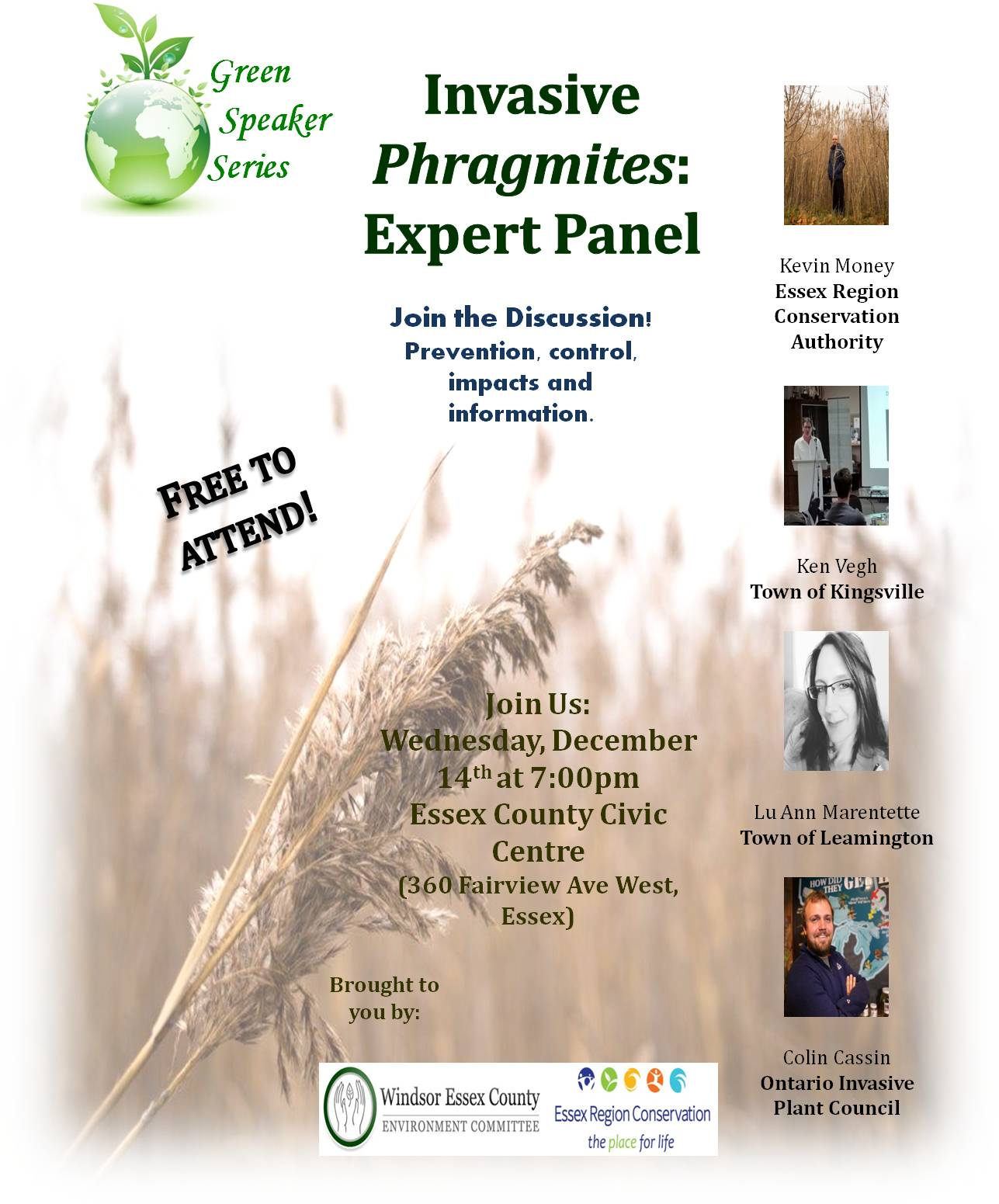 Invasive Phragmites: Expert Panel